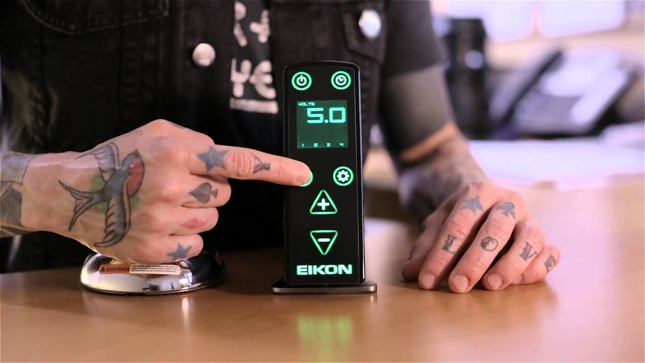 Eikon EMS420 Power Supply - Menu Mode - YouTube
