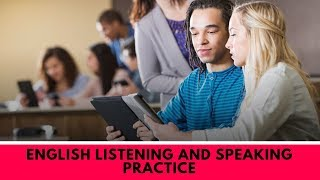 English Listening And Speaking Practice - Listen and Repeat the Sentences