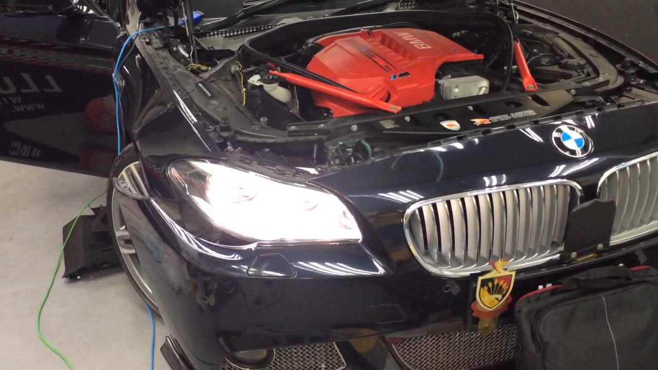 F10 Prelci Alh Adaptive Led Headlights Retrofit Done From Elebest Youtube