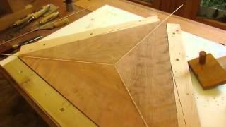 Drop Leaf Cherry Table   Stringing & Drop Leaf Joints - Step 5