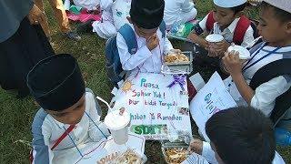 Anak-anak Pawai Ta'aruf Ramadhan Ya Marhaban Ya Maulana