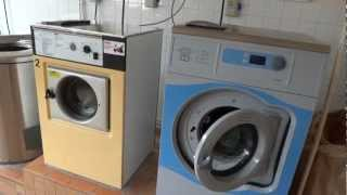 Random video, for TheEcoDisc: Electrolux Wascator washer in the laundry.
