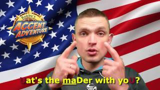 "American Pronunciation: ""What's The Matter With You?"" + Flap T"