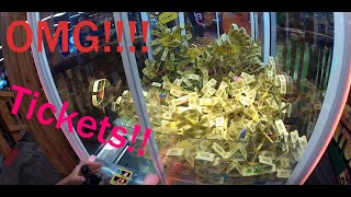 MUST WATCH! Part 1 #6 Landon playing at the Arcade! pt 2 GIVEAWAY!