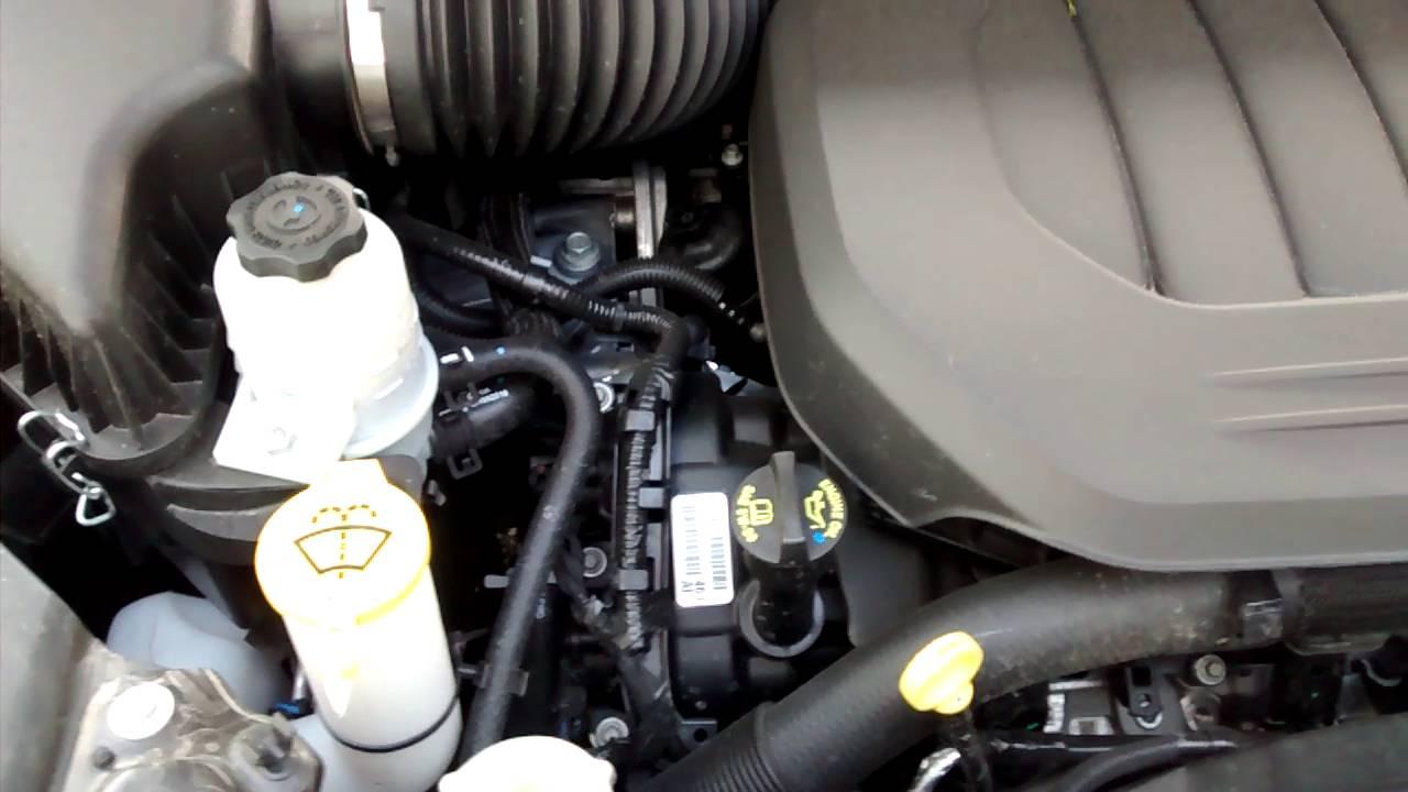 2016 Dodge Grand Caravan - 3 6L VVT V6 Engine - Normal Running Noise