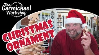 Christmas Ornament Woodturning Challenge 2014