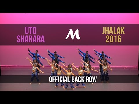 [2nd Place] UTD Sharara | Jhalak 2016 [Official Back Row 4K]