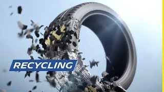Michelin Vision Recycling concept