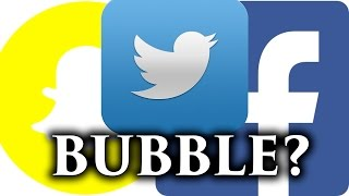 Tech Stock Bubble? - Are we in a Bubble? Facebook, Snapchat, Twitter Thoughts