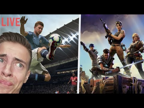 Najlepší Fortnite gameplay a FIFA k tomu! thumbnail