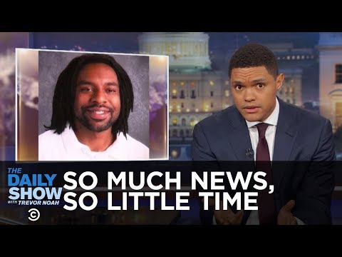Thumbnail: So Much News, So Little Time - NRA Silence on Philando Castile & Canceling Cuba: The Daily Show