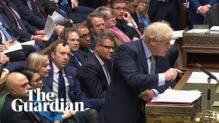 Boris Johnson and Jeremy Corbyn clash over NHS during PMQs
