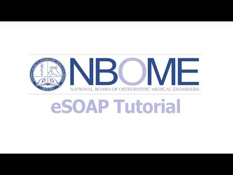eSOAP Notes Resources — NBOME