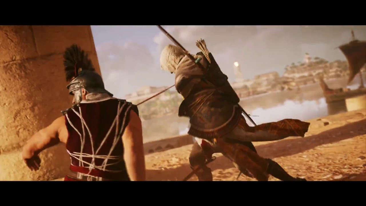 Assassin's creed origins official trailer assassins creed ...