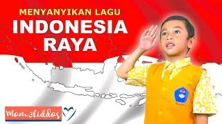 LAGU INDONESIA RAYA LIRIK    17 AGUSTUS 1945    ANAK TK NYANYI LUCU