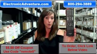 Original Sharp LC-RC1-14 Coupon $5 Off LCD HDTV Remote Control (LCRC114)ElectronicAdventure.com
