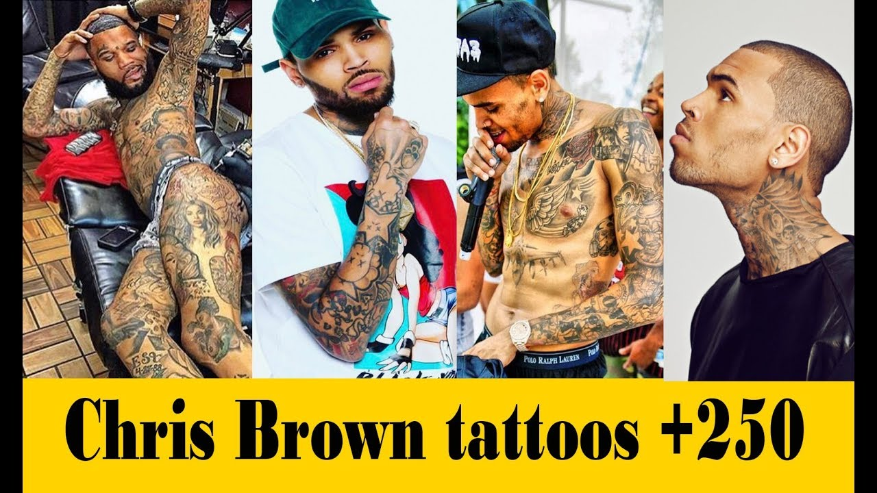 1dc0e1a31 Chris Brown New Tattoos 2019 | Celebrity Tattoos & Their Meanings 2019