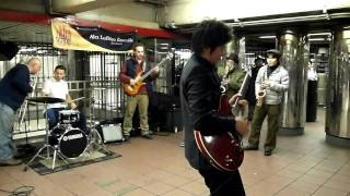 Alex LoDico Ensemble - 34th St Station NYC - 02/14/2011
