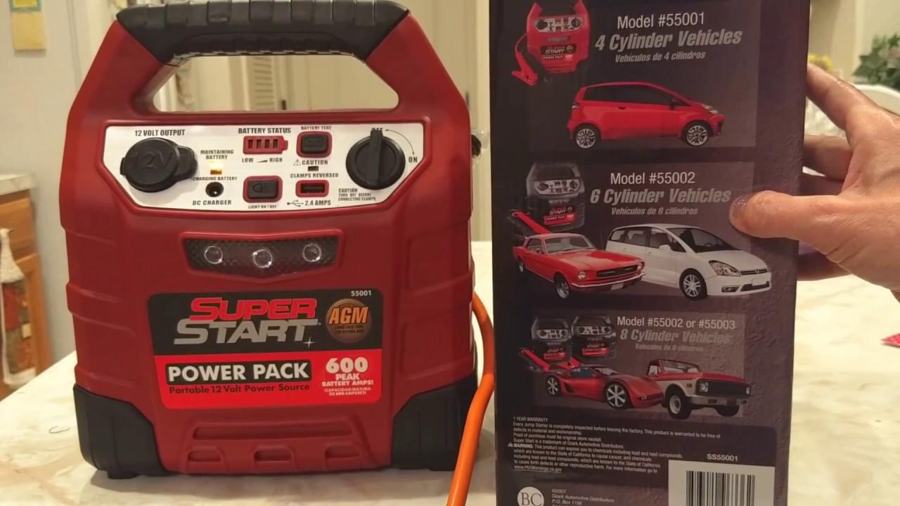 Super Start Jump Starter For Dead Car Battery