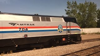 Amtrak & Via Rail HD 60fps: Riding Train 97 / 64 The Maple Leaf (Toronto to New York Penn) 7/4/16