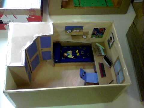maquetas de habitaciones de 6 e p colegio escuelas pias