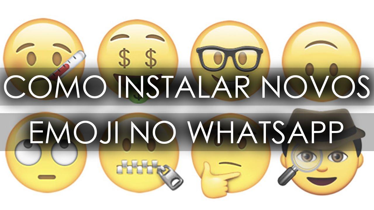 Whatsapp Facebook Baixar: Como Instalar Os Novos EMOTICONS (EMOJI) No Whatsapp