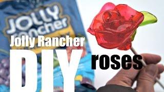 DIY Jolly Rancher Candy Roses