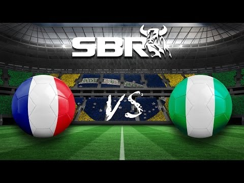 France vs Nigeria (2-0) 30.06.14 | 2014 World Cup Round of 16