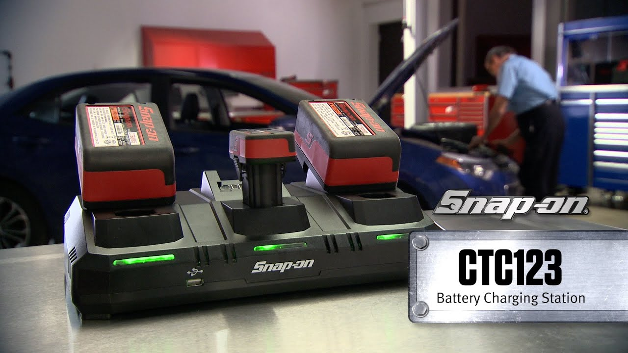 snap on ctc123 3 bay battery charger snap on tools youtube. Black Bedroom Furniture Sets. Home Design Ideas
