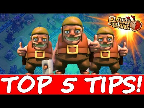 HOW TO MAX YOUR BASE FAST!!! | Clash Of Clans Top 5 Tips!