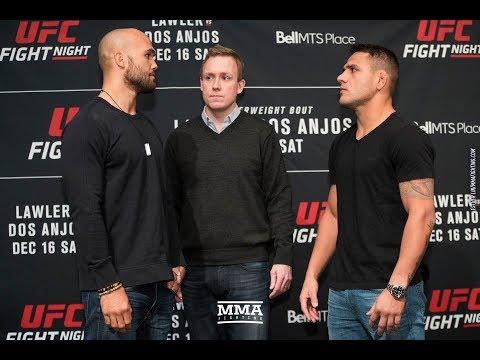 UFC on FOX 26: Robbie Lawler vs. Rafael dos Anjos Staredown - MMA Fighting
