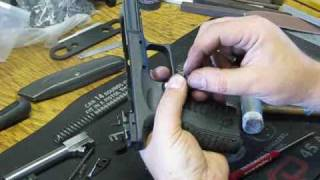 Springfield XDM and  XD frame detail assembly instructions by Springer Precision Part 1 of 3