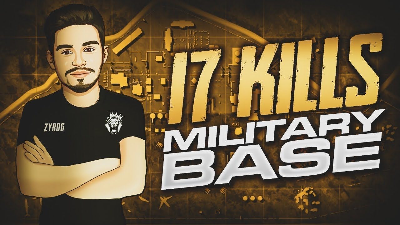 Download i GOT 17Kills in MILITARY BASE • PUBG • ZyroJayyy • StarEsport • Pakistan 🇵🇰