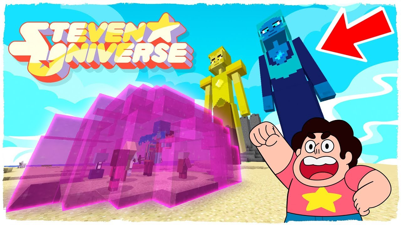 Minecraft Steven Universe Y Las Gemas De Cristal Vs Diamante Amarillo Y Diamante Azul Youtube