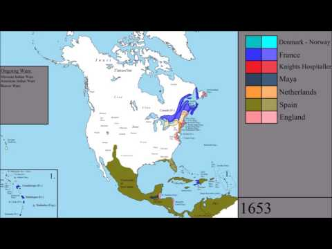 The History of North America: Every Year