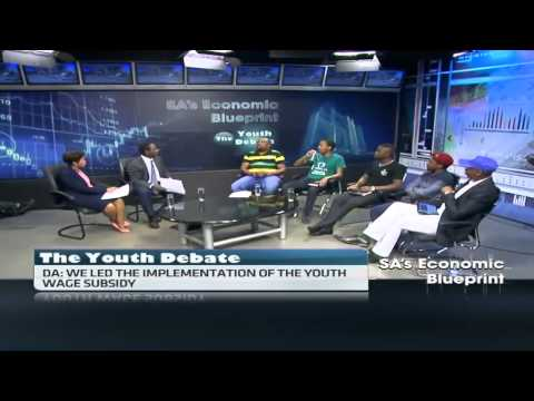 S.Africa's political parties' youth debate