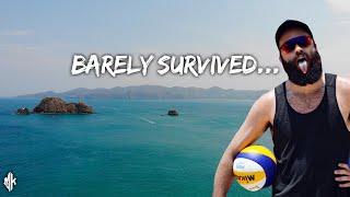 Costa Rican Beach Volleyball in 100° Heat & 100% Humidity