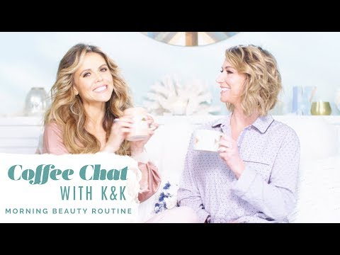 Coffee Chat with K&K Vlog | How To Set Up a Morning Beauty Routine