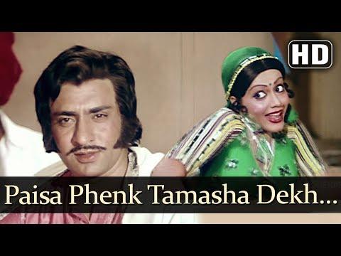 Paisa Phenk Tamasha Dekh (HD) - Jwaala Daaku Song - Jayshree T - Ranjeet - Filmigaane