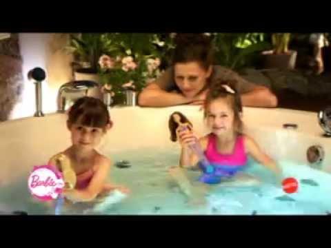 Világító Sellő Barbie reklám