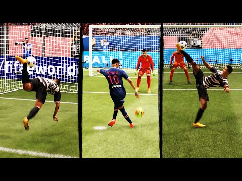 FIFA 21 Fancy Finishing Tutorial (Scorpion Kick, Bicycle Kick, Rabona & More) 4K thumbnail