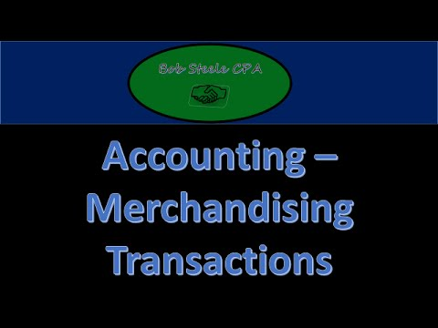 500.10 Merchandising Transaction / Journal Entries - Sales discount & Purchase Discount