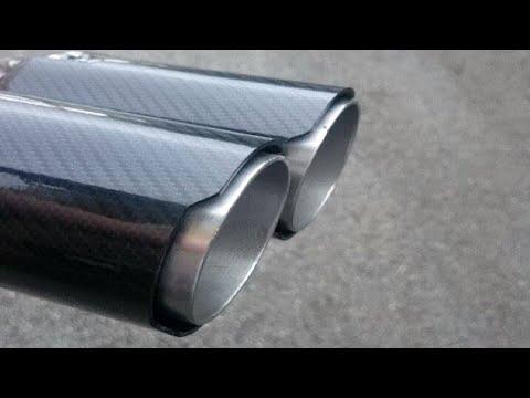 ★DIY★ - Carbon Fiber (look) Exhaust tips