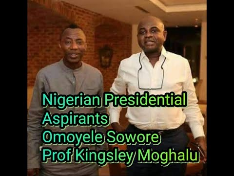Omoyele Sowore as Political Activist. Prof Moghalu is Politically Competent