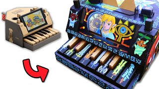 Nintendo Labo Piano Custom Paint Job - Legend of Zelda Breath of the Wild