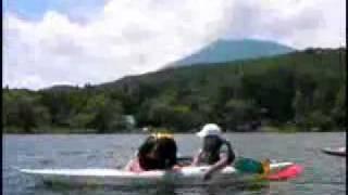 野尻湖カヤック.flv
