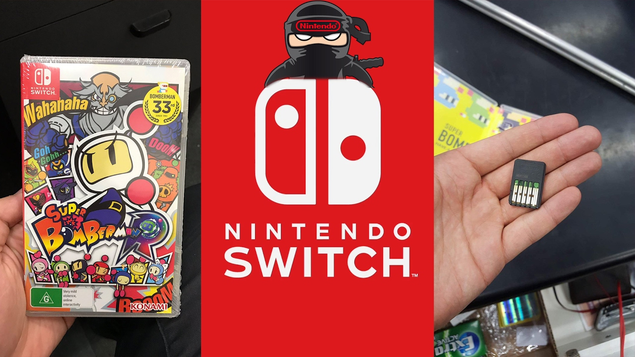 Nintendo Switch Super Bomberman R Retail Case Cart First Look Switchsuper Retailer Employee Lost His Job