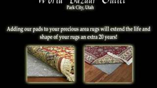 Rug Pads for Carpets and Oriental Rugs Salt lake City & Park City Free Shipping Thumbnail