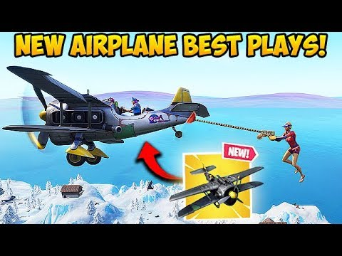 New Season 7 Plane Is Insane Fortnite Funny Fails And Wtf Moments 403 Youtube