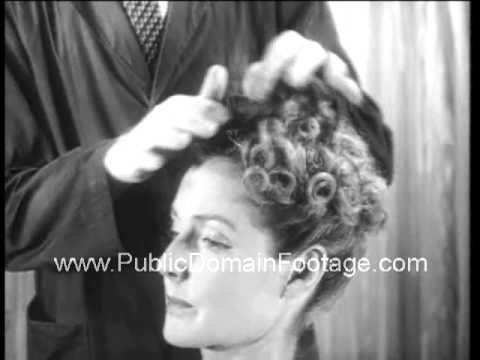 1938 Womens Hair styles 1930s archival footage www - 1930 Hairstyles